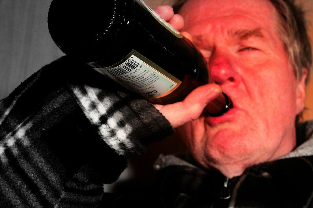 alkoholizmus végstádiuma